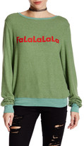 Wildfox Couture Falalala Pullover