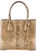 MICHAEL Michael Kors Small Metallic Mercer Tote