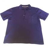 Pierre Balmain Purple Cotton Top for Women