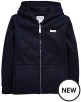 Converse Older Boy Hybrid Fleece Full Zip Hoody