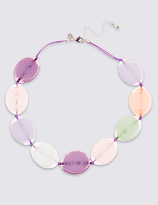 M&S Collection Flat Oval Necklace