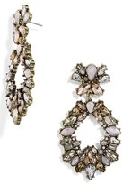 BaubleBar Women's Stavra Crystal Drop Earrings