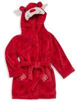Petit Lem Unisex Holiday Hooded Bathrobe