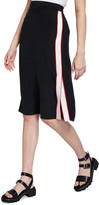 Rag & Bone Luca Side-Stripe Pencil Skirt