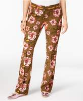 XOXO Juniors' Natalie Printed Flare-Leg Trousers