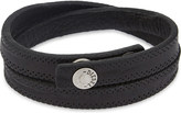 Diesel A-Taken leather bracelet