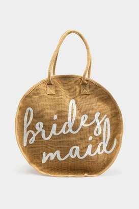 francesca's Brides Maid Circle Tote - Natural