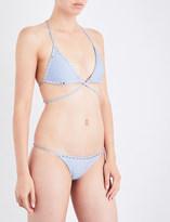 Same Swim The Vixen triangle bikini top