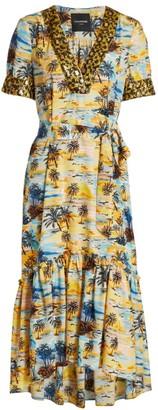 le superbe Laurel Canyon Sequin Trim Midi Dress