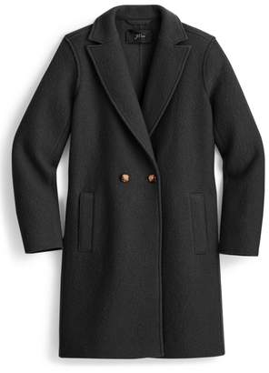 J.Crew J. Crew Daphne Boiled Wool Topcoat (Regular & Plus Size)