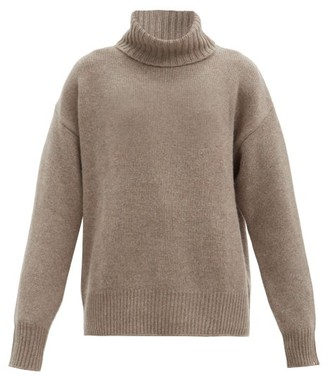 Extreme Cashmere No. 20 Oversize Xtra Stretch-cashmere Sweater - Mid Brown