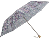 London Undercover Strawberry Thief Liberty Print Compact Umbrella