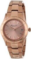 Kenneth Cole New York Women's KC4931 Rose Gold-Tone Stainless Steel Bracelet Watch