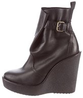 Pierre Hardy Round-Toe Wedge Ankle Boots