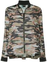 The Upside camouflage bomber jacket