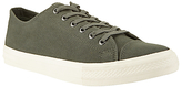 John Lewis Washed Canvas Lace-up Trainers