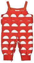 Bobo Choses Red Padded Crests Overalls