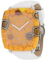 Yunik Stone Tonneau watch
