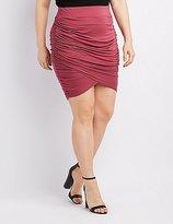 Plus Size Wrap Skirt - ShopStyle