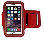 For iPhone SE/ 5/5s Case,HP95(TM) Fashion Running Sport Armband Gym Band Outdoor Cover Case For iphone SE 5 5S (Red)