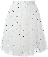 P.A.R.O.S.H. Ponystar skirt - women - Polyamide/Polyester/Acetate/Viscose - XS