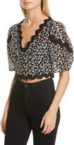 Rebecca Taylor Audrey Eyelet Cotton & Silk Blouse