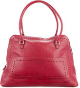 Anya Hindmarch Perforated Leather Shoulder Bag