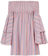 Caroline Constas Apollonia Tiered Sleeve Dress
