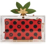 Charlotte Olympia Lucky Pandora Perspex clutch