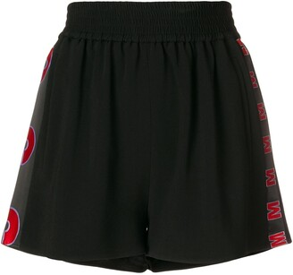 Stella McCartney Embroidered Cady Shorts