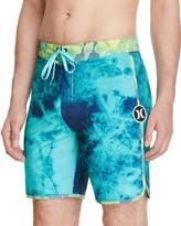 Hurley Phantom Tie Dye Floral Board Shorts