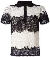 RED Valentino lace shortsleeved shirt