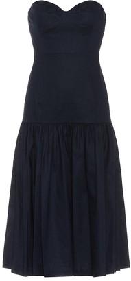 Veronica Beard Fiore linen and cotton dress