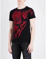 Philipp Plein Claws Cotton T-shirt