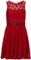 Alice & You Red lace sweetheart dress