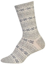 Ralph Lauren Angora Fairisle Boot Socks