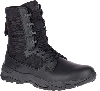 Merrell Work MQC Patrol Waterproof (Black) Men's Shoes