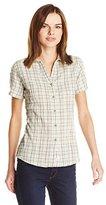 Woolrich Women's Carrabelle Seersucker Short Sleeve Shirt