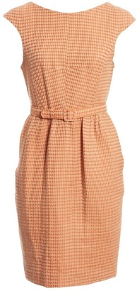 Jonathan Saunders Orange Wool Dresses
