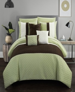 Chic Home Osnat 10 Piece Queen Bed In a Bag Comforter Set Bedding