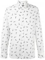 Lanvin whale print shirt
