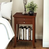 Andover Mills American Heritage Logan End Table Table Top Color: Mahogany, Table Base Color: Mahogany