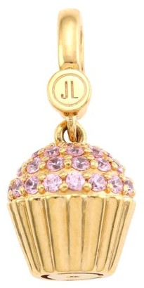 Judith Leiber 14K Goldplated Sterling Silver & Cubic Zirconia Cupcake Single Charm
