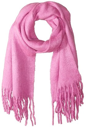 Rebecca Minkoff Woven Blanket Scarf (Punch) Scarves