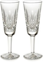 Waterford 'Lismore' Lead Crystal Champagne Flutes