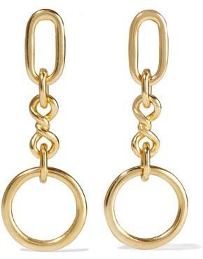 Ben-Amun 24-karat Gold-plated Earrings