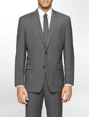 Calvin Klein Classic Fit Grey Ministripe Suit Jacket