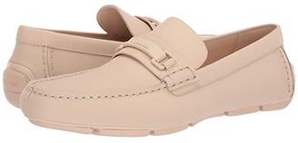 Calvin Klein Kamden (Light Sand Rubberized Leather) Men's Slip on Shoes