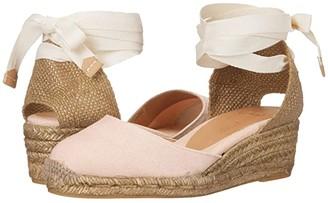 Castaner Carina 30 Wedge Espadrille (Rosa Palo) Women's Shoes