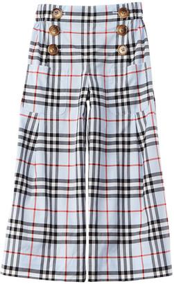 Burberry Vintage Check Sailor Trouser
